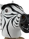 Zebra Head Latex Mask for Halloween Costume Party(1 Pc)