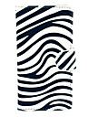 The Zebra Pattern PU Leather Hard Plastic Case for Huawei G6