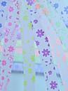 2x 30 шт люминесцентные эффек бабочки и цветы шаблон повезло звезды оригами материалы (Random Color)