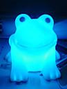 rotocast 색상 변화 밤 빛을 개구리