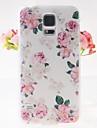 핑크 패턴은 삼성 은하 S5 i9600에 대한 사건을 다시 엠보싱 장미
