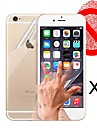 Front and Back Matte Screen Protector for iPhone 6S/6  (3 PCS)
