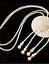 Ivory Strands Necklaces Imitation Pearl Wedding / Party / Daily / Casual Jewelry