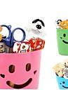 ящики пластиковые улыбка хранения многофункциональный контейнер (Random Color)