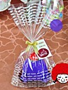 toalla creativa de fibra forma la torta de cumpleanos de regalo (color al azar)