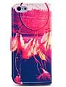 아이폰 5C를위한 스탠드와 카드 슬롯과 화려한 꿈의 포수 패턴 전신 케이스