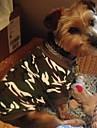 Cat / Dog Shirt / T-Shirt Green / Pink Dog Clothes Summer Camouflage Wedding / Cosplay