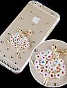 Crystal Ballet Girl Pattern Hard Back Case for iPhone 6