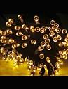 21m солнечной энергии цвета 200 привело Рождество партия помещении на открытом воздухе фея stringlight Рождество лампа -желтый