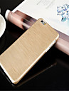 Solid Color Brushed TPU Soft Case for iPhone 6 Plus(Assorted Colors)