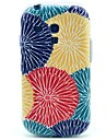 Sun Flower Colorful Pattern Soft Case for Samsung Galaxy S3 Mini I8190