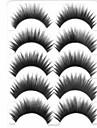 속눈썹 속눈썹 속눈썹 두꺼운 내추럴 롱 머리에 볼륨을 준 천연 컬리 두꺼운 섬유