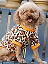 Chat / Chien T-shirt Jaune Vetements pour Chien Hiver Animal Mariage / Cosplay
