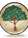 temps cabochon de verre d'arbre de l'art de l'arbre de vie du bijou Broche (1 pièce)