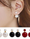 Earring Stud Earrings Jewelry Women Wedding / Party / Daily / Casual Alloy