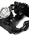 Headlamps LED 3 Mode 1600 Lumens Waterproof / Rechargeable Cree XM-L T6 18650Camping/Hiking/Caving / Everyday Use / Cycling / Hunting /