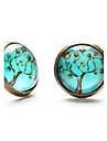 Earring Stud Earrings Jewelry Daily / Casual / Sports Copper Bronze