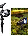 2 l\'energie solaire conduit exterieur jardin paysager projecteurs jeu d\'inondation