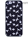 Lureme Dove Pattern Printing Polycarbonate for iPhone 5/5S