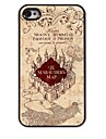 The Marauders Map Design Aluminum Hard Case for iPhone 4/4S
