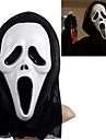 할로윈 의상 파티 용 헤드 커버 비명 짖꿎은 장난 무서운 코스프레 가제트 흰색 유령의 마스크