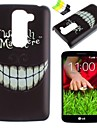 Black Teeth Pattern PC Hard Case and Phone Holder for LG G2 mini