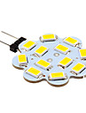 3W G4 LED Bi-pin Lights 12 SMD 5630 270 lm Warm White / Cool White DC 12 V 10 pcs
