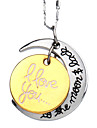 Silver Pendant Necklaces Silver Plated Daily / Casual / Sports Jewelry
