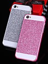 solide bling de luxe paillettes au dos du boitier de protection pour iPhone (6 couleurs assorties)
