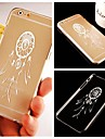 Small Dreamcatcher Pattern Transparent Back Case for iPhone 6 Plus