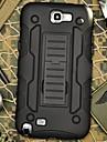 Pour Samsung Galaxy Note Antichoc Avec Support Coque Coque Arriere Coque Armure Polycarbonate pour Samsung Note 2