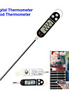 "1.5"" Screen Long Probe Digital Electronic Cooking Thermometer Temperature Meter Food Feeder  (1 x LR44)"