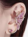 Ear Cuffs Rhinestone Alloy White Purple Jewelry Wedding Party Daily Casual 1pc