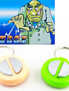 Shock-Your-Friend Electric Shock Handshake Toy Hand Buzzer Practical Joke Gadgets(Random Color)
