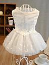 Белый - Платья - для Собаки - Хлопок - Свадьба/Косплей -