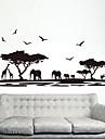 экологические съемные африканской саванне теги пвх&наклейка