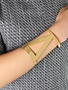 Fashion Punk Style Wholesale Gold Plated Big Bangle Cuff