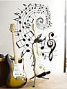 Revolving Music Note PVC Wall Sticker