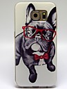 Eye Dog Pattern TPU Soft Cover for Samsung Galaxy S6