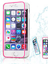 Pour Coque iPhone 6 Coques iPhone 6 Plus Transparente Coque Coque Integrale Coque Couleur Pleine Flexible PUT pouriPhone 6s Plus/6 Plus