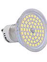 GU10 6W 60x2835SMD 720LM 2800-3200K/6000-6500K Warm White/Cool White Light LED Spot Bulb (200-240V)