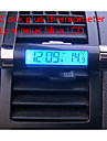 Car Vent Clip Thermometer Electronic Bracelet Luminous LCD Screen