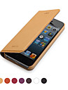 GGMM® Genuine Leather Clamshell Full Body Case  for IPhone5/5s (Assorted Colors)