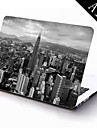 The City in Gray Design Full-Body Protective Plastic Case for 11-inch/13-inch New MacBook Air