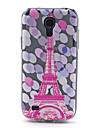 For Samsung Galaxy etui Mønster Etui Bagcover Etui Eiffeltårnet TPU Samsung S4 Mini