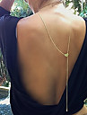 Classicff (Stem) BronzeAlloy Pendant Necklace(Bronze) (1 Pc)