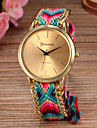Women Big Circle Dial  National Hand Knitting Brand Luxury Lady Watch C&D-278 Cool Watches Unique Watches