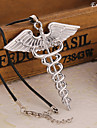 Euner® Euro-American Classical Movie Percy Jackson Necklace Vintage Angel Wing Pendant Necklace