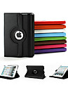 Top Quality ! 360 Rotating Leather Stand Flip Case For Apple Ipad mini & mini 2 Cover+Screen Protector+ Stylus
