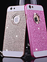 Pour iPhone X iPhone 8 iPhone 8 Plus Coque iPhone 5 Etuis coque Strass Coque Arriere Coque Brillant Dur Metallique pour iPhone X iPhone 8